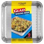 Glad BDISH2/12 Foil Baking Dish Pack 2