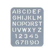 Esselte Lettering Stencil 40mm