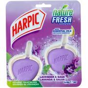 Harpic Nature Fresh Inspiration Hygienic Toilet Block Lavender and Sage 2 x 40g