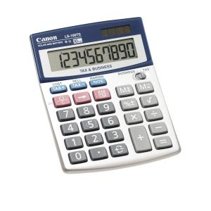 Canon LS100TS Desktop Calculator 10 Digit Dual Power