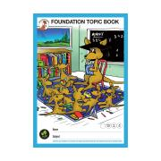 Clever Kangaroo Foundation Topic Book 14mm Ruled 64 Pages