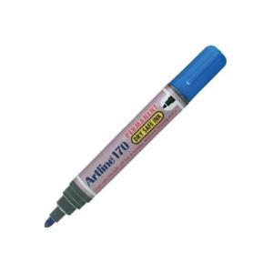 Artline 170 Permanent Marker Drysafe Bullet Blue