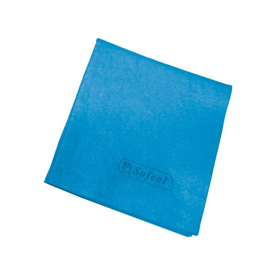Sofeel Cleaning Cloth Heavy Duty Blue 40X38cm 25Pkt