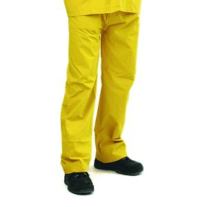 Firstgear 'Sierra' Yellow Rain Pants Aside from the obvious visual effect of being seen from yards away, this gear will keep you bone dry in the worst downpour.