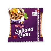 Kelloggs Sultana Bran Cereal Portion Control 40g Carton 30