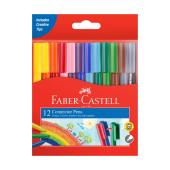 Faber-castell Connector Pens Assorted Colours Pack Of 12