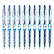 Pilot Bottle-2-Pen Retractable Gel Pen Fine 0.7mm Blue Box 10