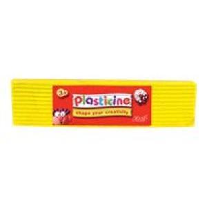 Colorific Plasticine Education Pack 500gm - Yellow Image