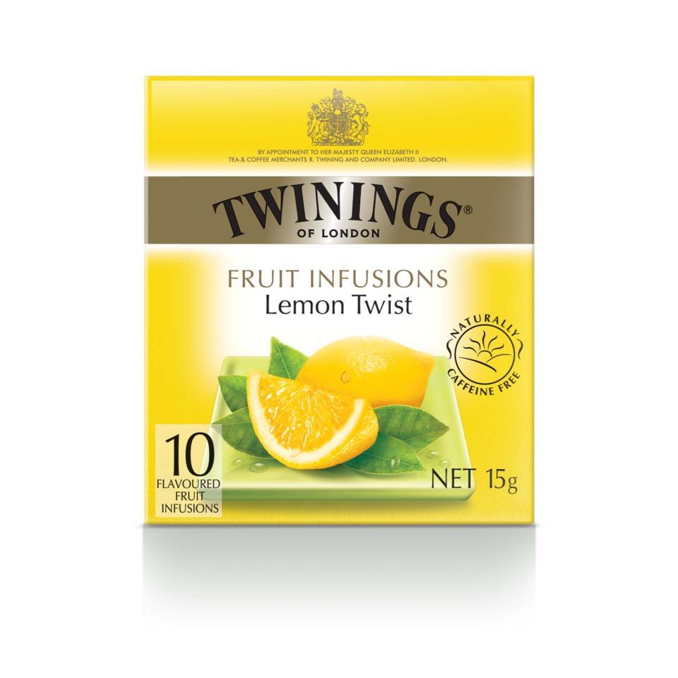 Twinings Tea Bags Lemon Twist Pkt10