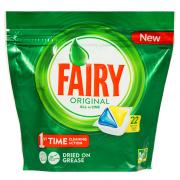Fairy Autodish Tab All In One Lemon Pack 22