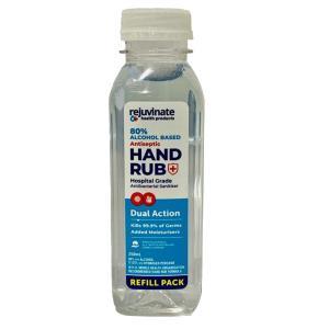 Fresh Start Antibacterial Hospital Grade Hand Sanitiser Rub 80% Alcohol Bottle 350ml