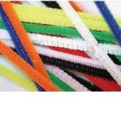 Colorific Chenille Pipecleaners 6x300mm Assorted Colours Pack Of 100