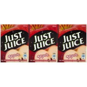 Just Juice Apple Juice 200ml Poppers Carton 24