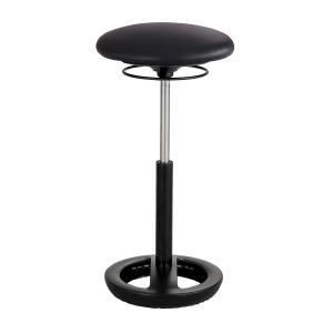 Safco Twixt Chair Desk Extended Height Black