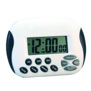 Carven Digital Timer with Clock