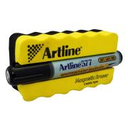 Artline 577 Whiteboard Marker & Magnetic Eraser