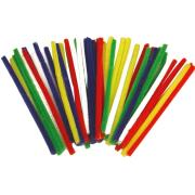 Colorific Chenille Pipecleaners 6x150mm Assorted Colours Pack Of 50