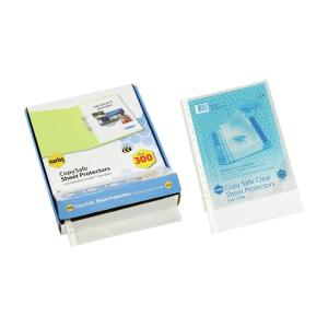 Marbig Copysafe A4 Economy Sheet Pockets Pack 300
