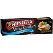 Arnotts Water Cracker Original 125g