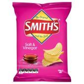 Smiths Chips Crinkle Cut Salt & Vinegar 170g