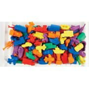 EC Counters Transport 6 Types Colours Tub 144