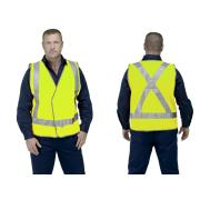 Guardian Safety Vest Day And Night 2 Inch Reflective Tape Yellow