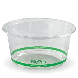 Biopak Biodeli Biobowl 700ml Clear Carton 600