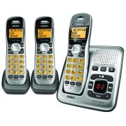 Uniden DECT 1735 + 2 Digital Phone Answering System + 2 Additional Cordless Phone Handsets