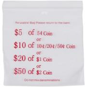 Cumberland Coin Bags $50 of $2 / $20 of $1 / $10 of Silver - Box 1000