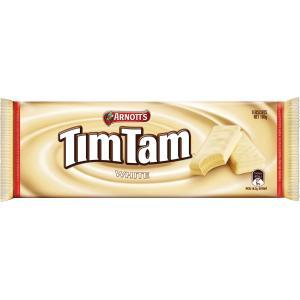Arnott Tim Tam White Chocolate 165g