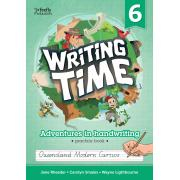 Writing Time 6 (Queensland Modern Cursive) Student Practice Book