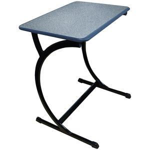 Sebel Op Desk 630mm High Sebel Stone/charcoal