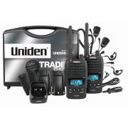 Uniden 5 Watt UHF Waterproof Cb Handheld Tradies Pack
