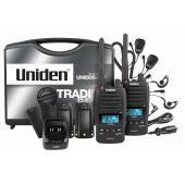 Uniden 5 Watt UHF Waterproof Cb Handheld Tradies Pack
