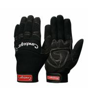 Contego Mechanics Gloves Neoprene Padded Palm Cut 1 Black Size Small Pair