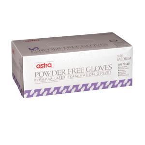 Astra Latex Exam Powder Free Gloves Xlarge Box 100