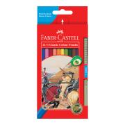 Faber Castell 16-115852 Pencils Classic Colour Assorted Pack 12