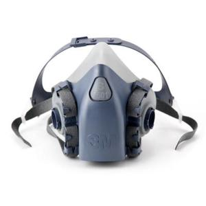 3m Premium 7501B Half Face Reusable Respirator 7500 Series Small