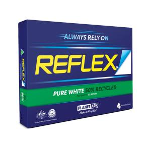 Reflex Copy Paper Carbon Neutral 50% Recycled A3 Bright White 500 Sheet