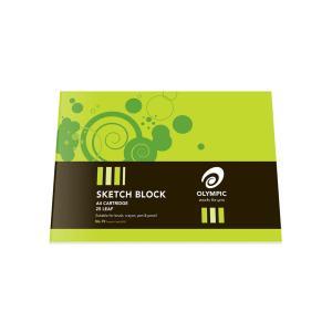 Olympic Sketch Block A4 110GSM Premium Cartidge Paper 25 Leaf
