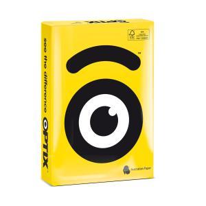 Optix Copy Paper A4 Tera Yellow 500 Sheet
