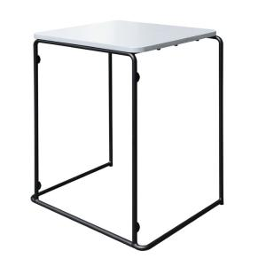 Proed Student Table 720h x 750w x 500dmm White/Black
