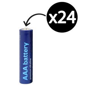 Winc AAA Premium Alkaline Battery Box 24