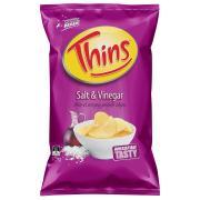Thins Chips Salt & Vinegar 175g