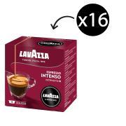 Lavazza A Modo Mio Intenso Coffee Capsules 7.5g Box 16