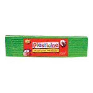 Colorific Plasticine Education Pack 500gm - Green Image