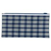 Winc Tartan Pencil Case 1 Zip Pouch 340x170mm
