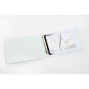 Marbig Insert Binder A3 Landscape 3D Ring 50mm White