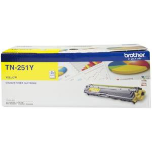 Brother TN-251Y Yellow Toner Cartridge