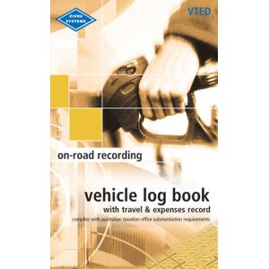 Zions Vted Vehicle Log Book/Travel/Expense Pocket